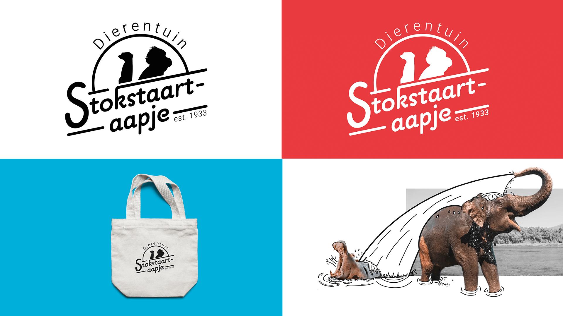 Logo en augmented illustraties