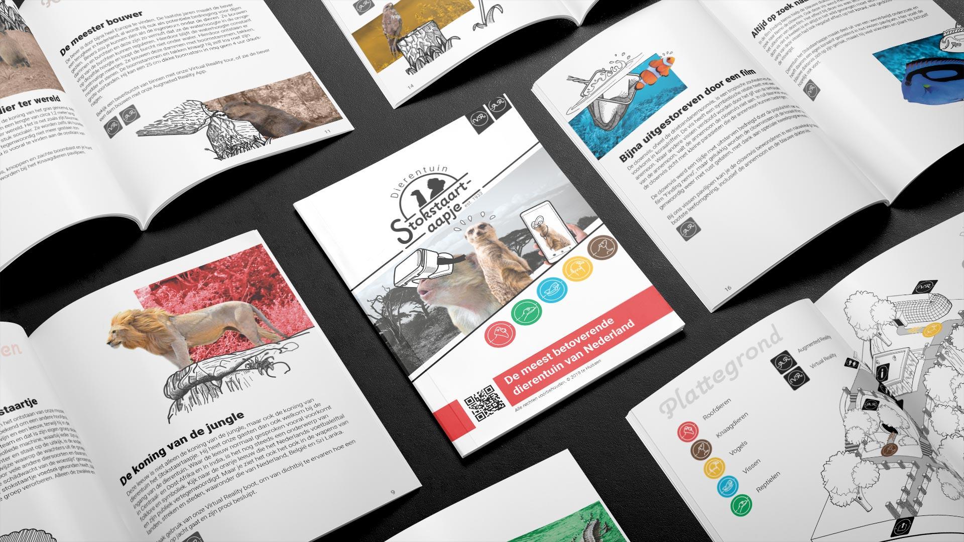 Brochure spreads