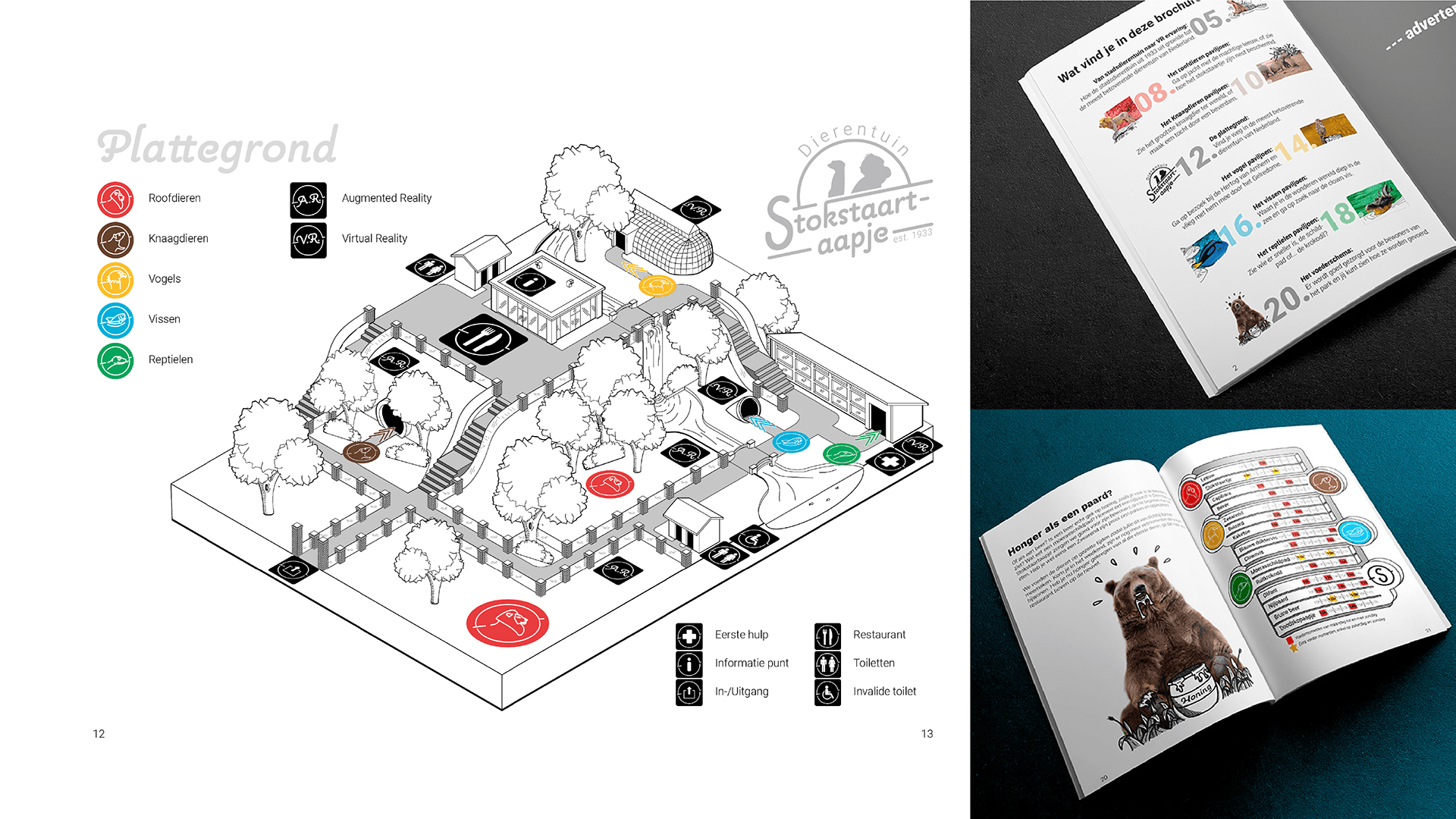 Brochure plattegrond