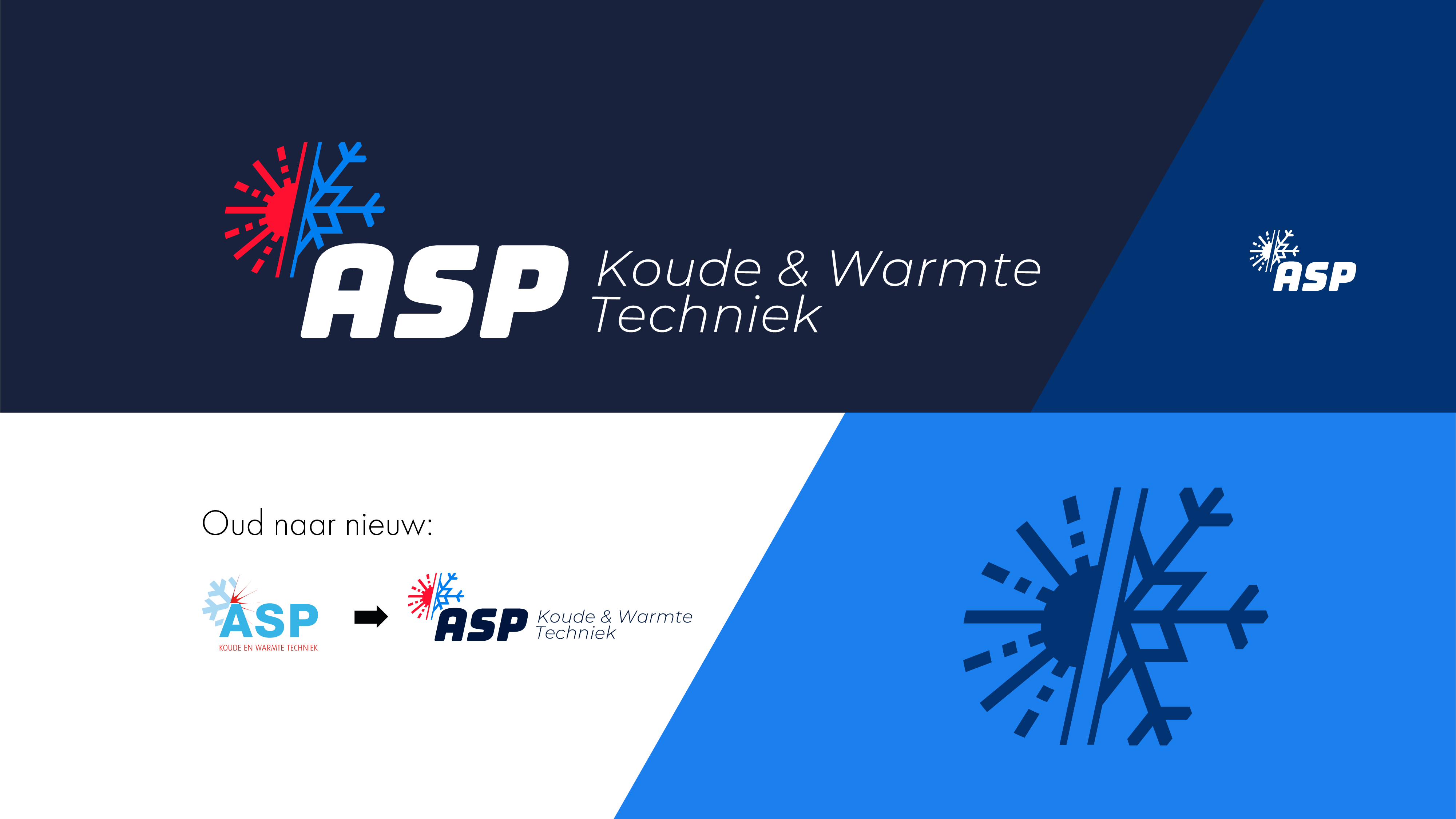 Rebrand logo ontwerp