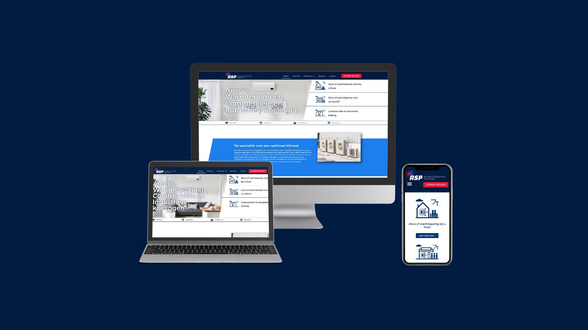 Rebrand responsive website