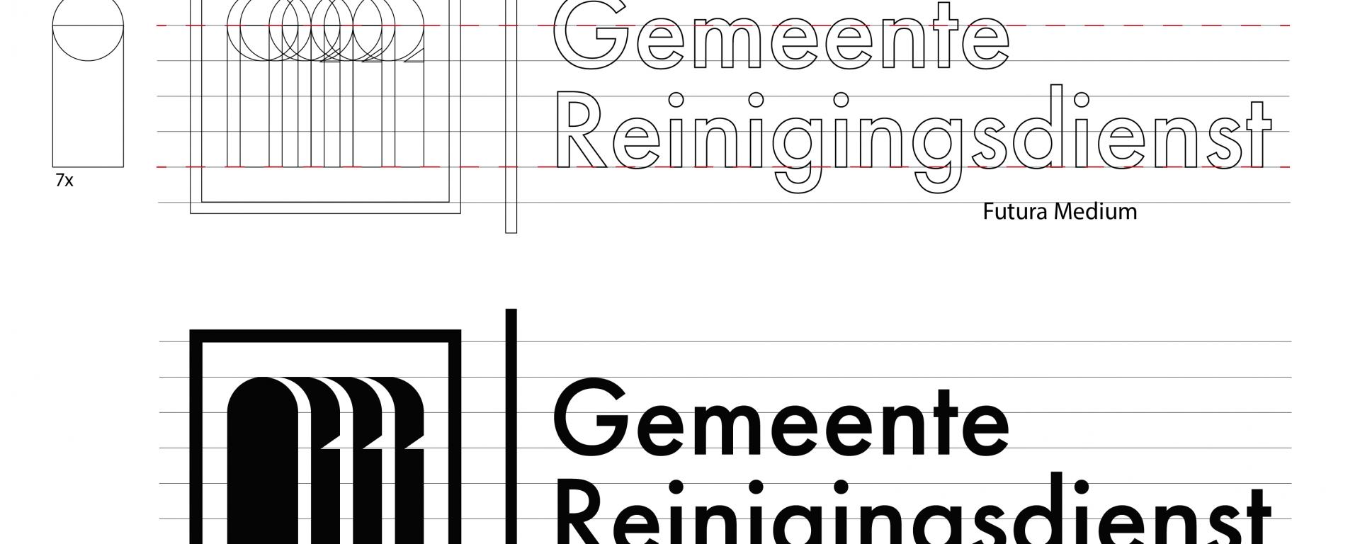Reinigingsdienst 03 - logo construction